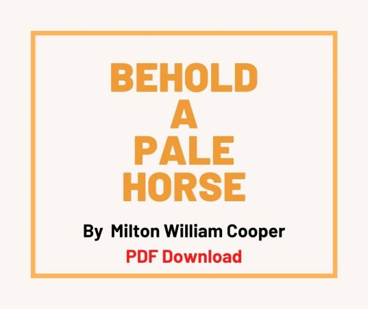 Behold the Pale Horse pdf free download