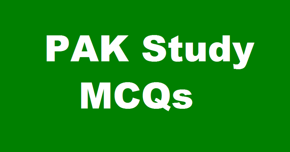 Pak Study Mcqs Pdf Download for PPSC FIA jobs