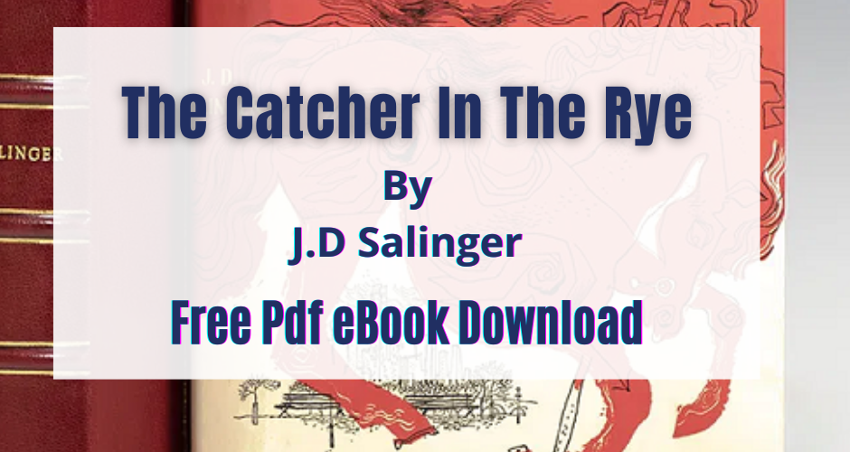 The Catcher in the rye Pdf Download