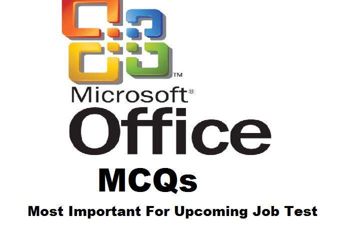 Ms Office Mcqs In Pdf