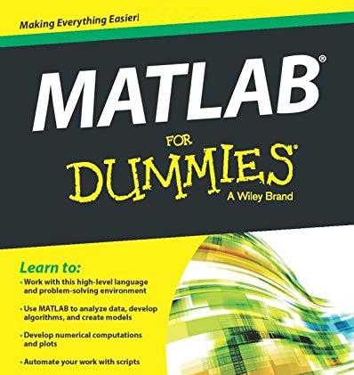matlab for dummies pdf