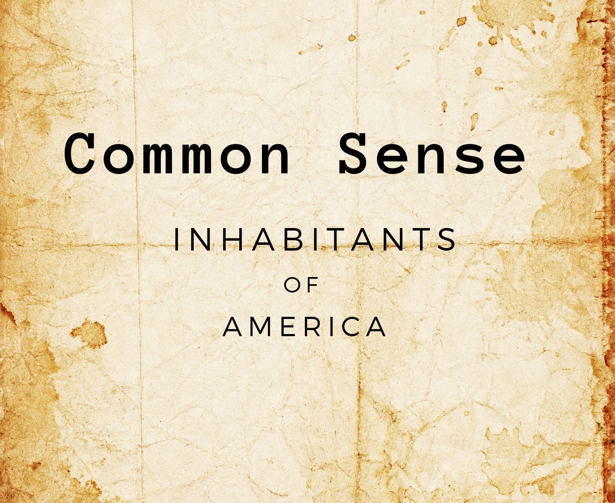common sense thomas paine pdf
