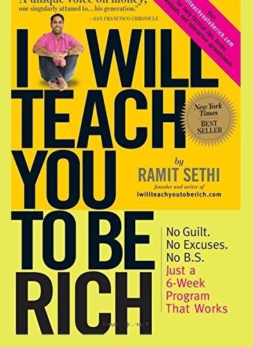 I Will Teach You to Be Rich Pdf By Ramit Sethi