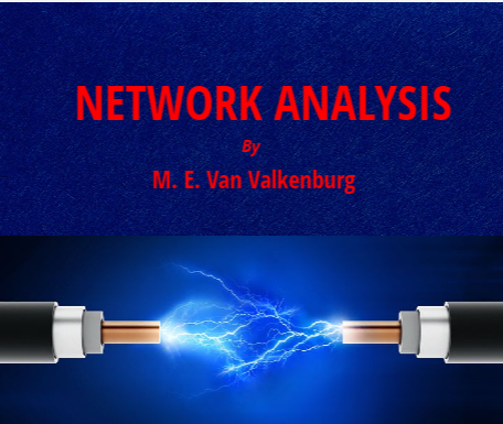 network analysis pdf by van valkenburg