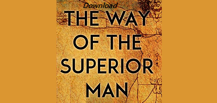 Download The Way of the Superior Man Pdf
