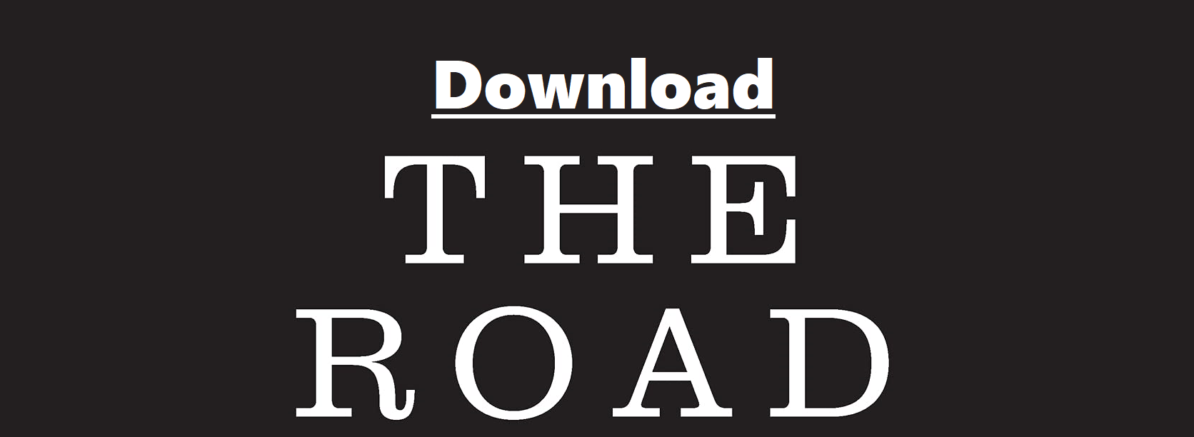 Download The Road By Cormac McCarthy Pdf