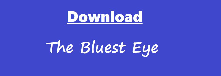 Download The Bluest Eye By Toni Morrison Pdf eBook